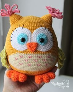 crochet owl pattern pattern colorful owl pdf crochet toy pattern ILXSKCN