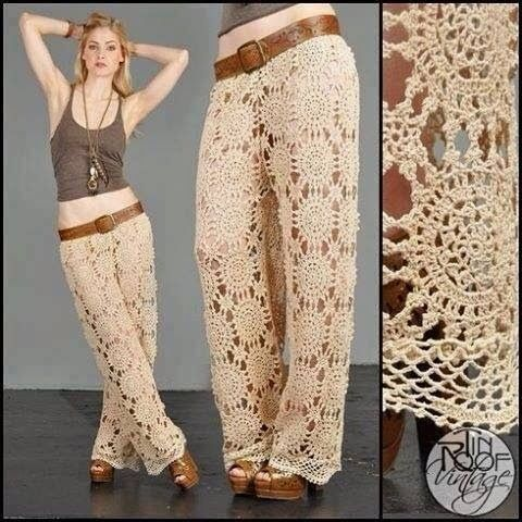 crochet pants crochet patterns to try: free crochet charts for spectacular summer pants,and  written patterns RHVZVCN