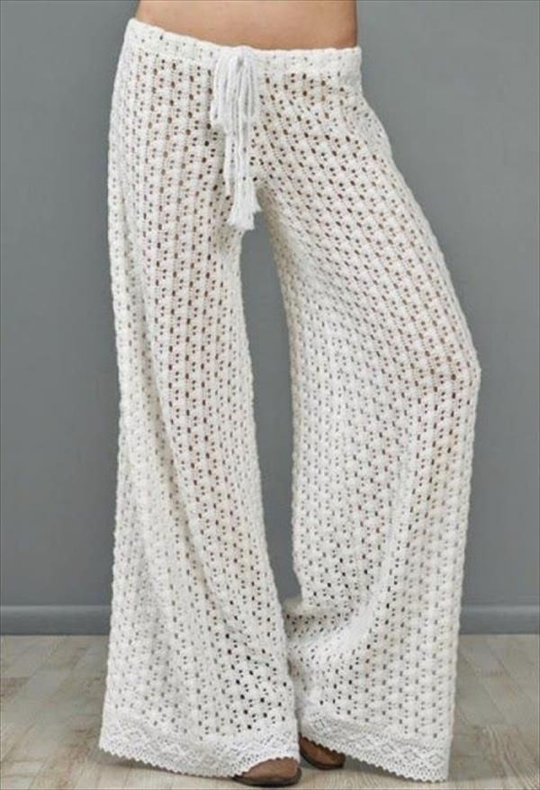 crochet pants free crochet summer pant pattern – there are links to other good patterns,  not DHMXPZK