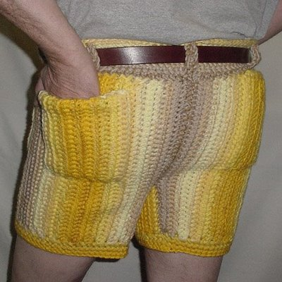crochet pants men in crocheted pants | crochet by darleen hopkins XRHVPRS