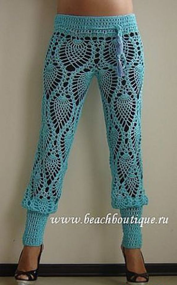crochet pants roundup of beautiful #crochet trouser pants from crochet_stuff QJLULZK