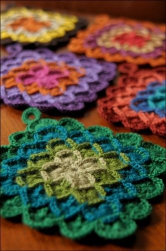 crochet potholders crochet potholder how-to VDZZNXN