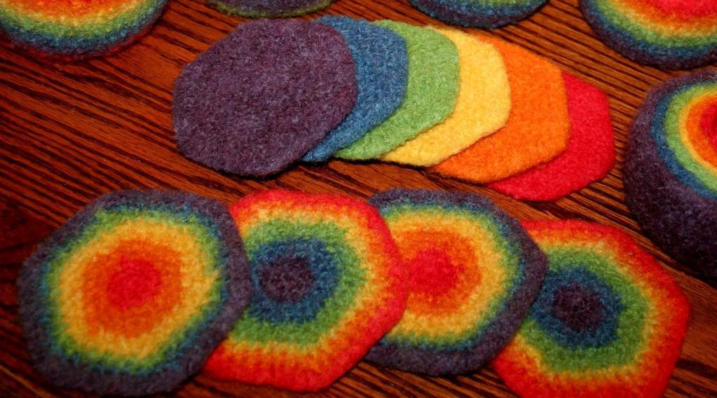 crochet potholders rainbow crochet potholder GKQFUTM