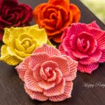 All you need to know about crochet rose