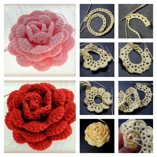 Your go-to guide on crochet rose pattern