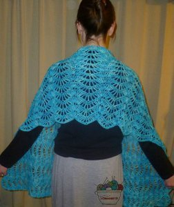crochet shawl the beautiful design of this crocheted shawl is definitely impressive. the  stop and stare BQIPRZF