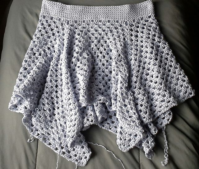 crochet skirt #crochet granny skirt free pattern by high strung designs MZOQLNE