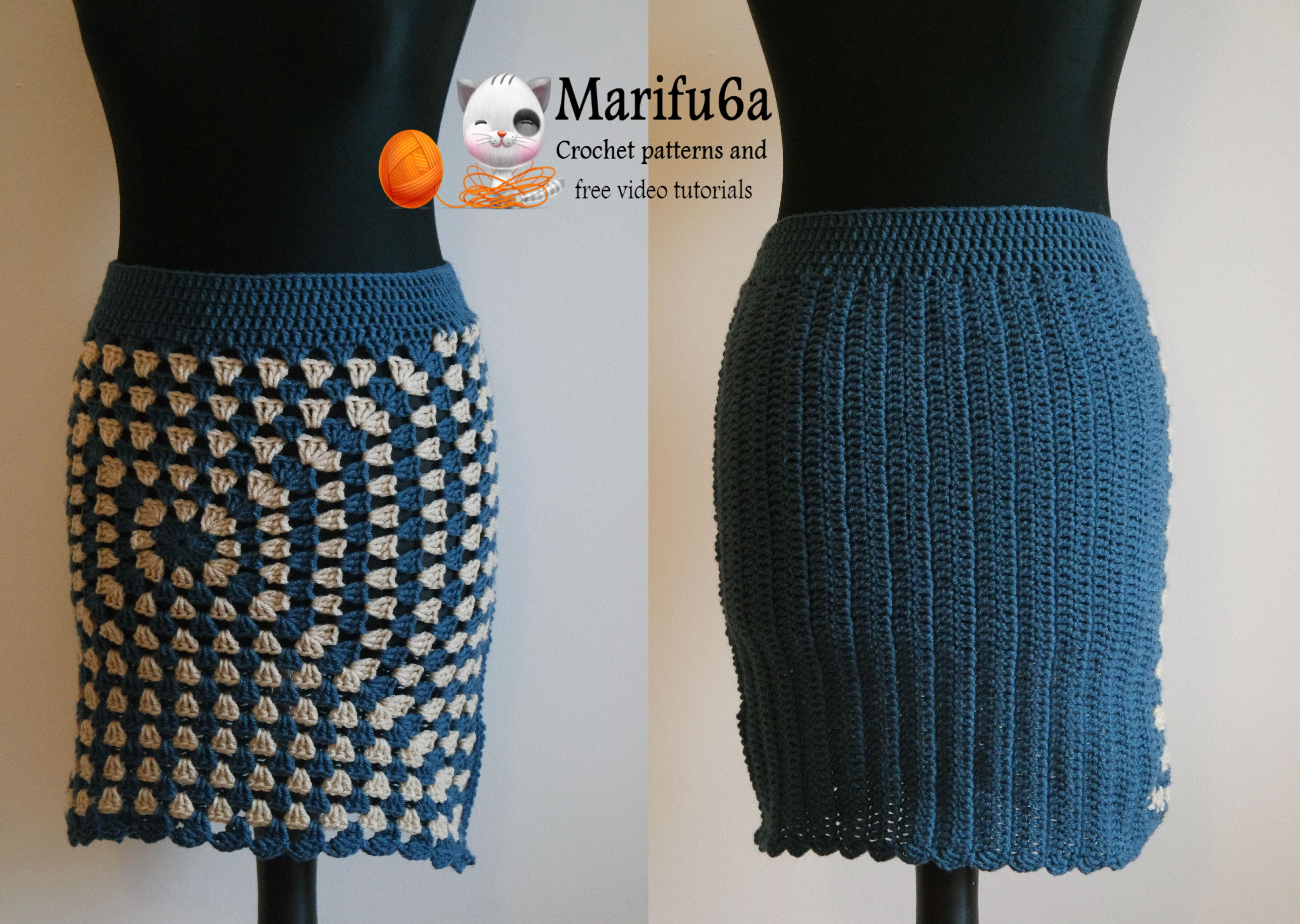 crochet skirt how to crochet easy warm skirt for beginners free tutorial pattern WSHZEHI