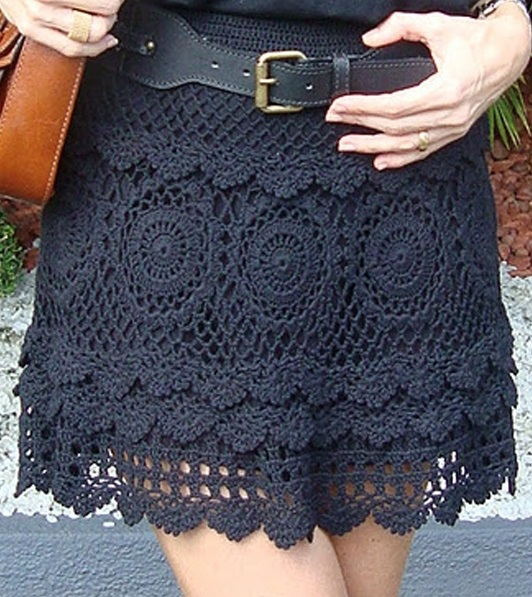 crochet skirt pattern … UUWFDZV