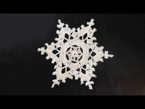 crochet snowflake pattern crochet snowflake GIHRFAD