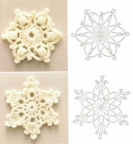crochet snowflakes christmas: crochet snowflake patterns. winter, the season of my birth. i  didn RZGFRVB