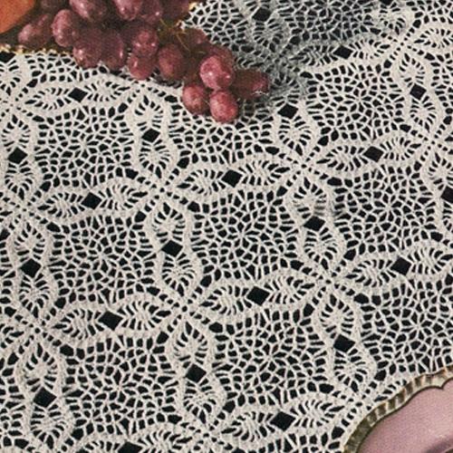 crochet tablecloth hand crocheted tablecloth YWYIQXI