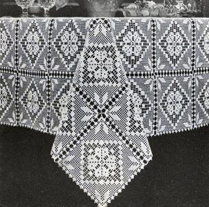 crochet tablecloth VGUUVIK