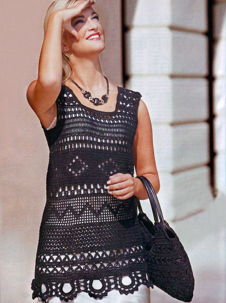 crochet tunic pattern ... MIQSUQZ