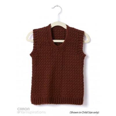 crochet vest adult crochet v-neck vest DASZZCB