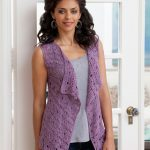 The history of crochet vest
