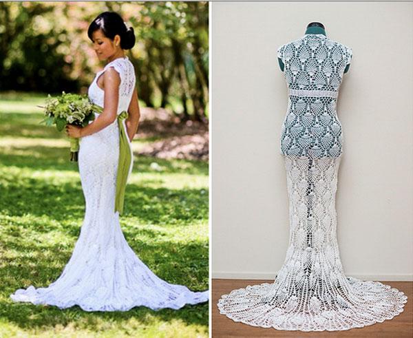 crochet wedding dress ... crochet-wedding-dress CZQKTDF