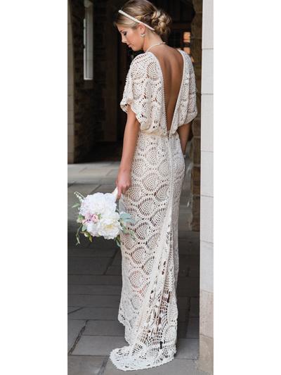 crochet wedding dress everlasting wedding dress crochet pattern KDMDSMC