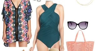 cruise wear ... vacation swimsuit - what to wear on a caribbean cruise in march ZXRKSKV