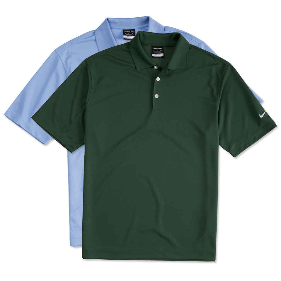custom polo shirts design custom embroidered nike golf dri-fit micro pique performance polo  online at customink YTHDTHL