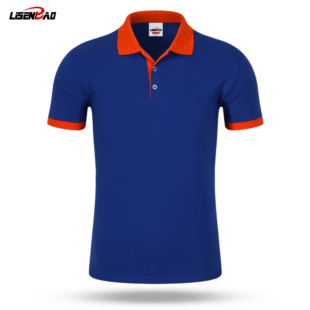 custom polo shirts lisenbao new 2017 polo shirt for men designer polos accept custom diy logo  men ZTSJGNB