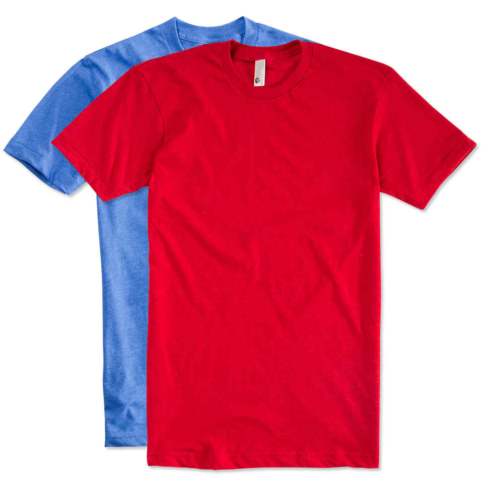 custom shirts design custom printed american apparel 50/50 t-shirts online at customink TPYVEKF