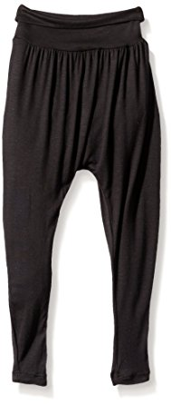 dance pants gia-mia dance big girls harem pant, black, small DACOKJH