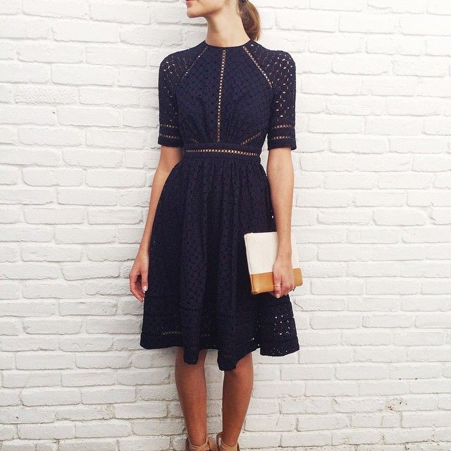 day dresses east hampton: mia at our east hampton store wears ryker broidery day dress  in AATNHEJ