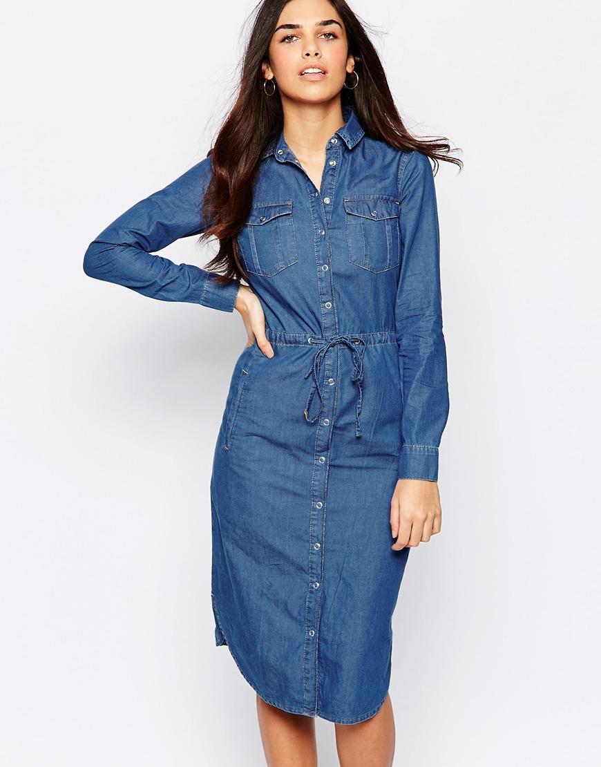 denim shirt dress gallery. womenu0027s denim dresses KVUCTIG