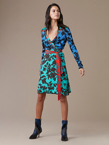 diane von furstenberg wrap dress diane von furstenberg long-sleeve wrap dress GJDRZCH