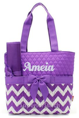 diaper bags for girls diaper bag for girl or boy - quilted CAKMQKJ
