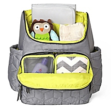 diaper bags image of skip*hop® forma backpack diaper bag in grey HBFGXPN