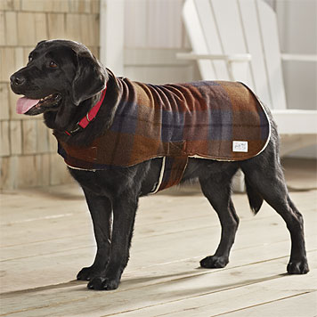 dog jackets plaid wool dog coat YFPXOZQ