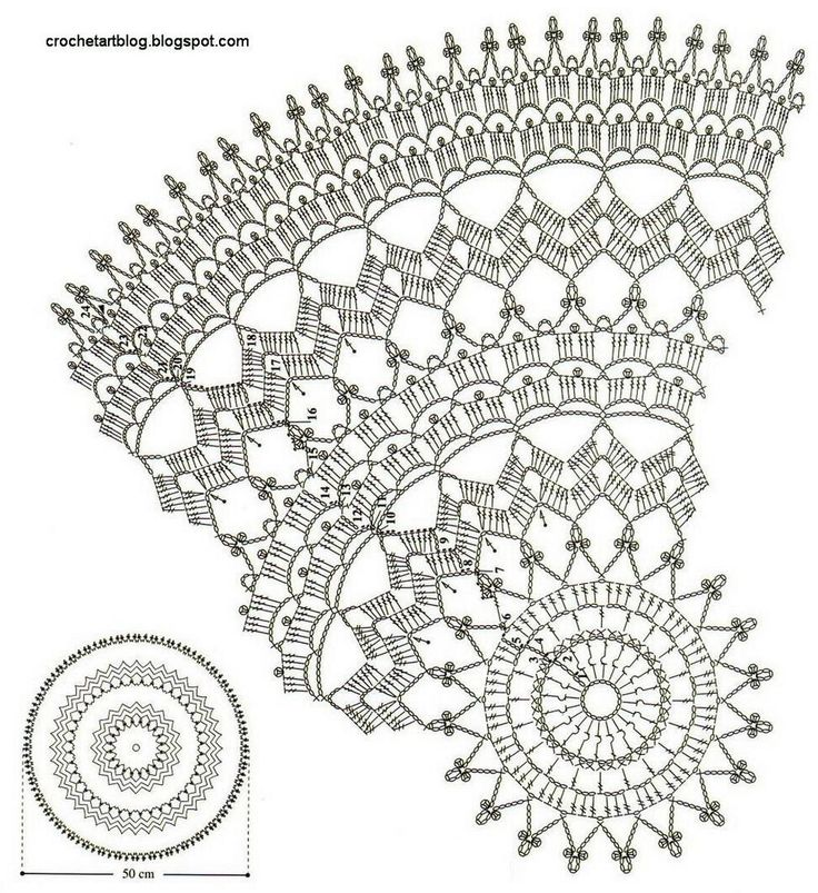 doily patterns crochet art: crochet doily - free crochet pattern DGEDUSZ