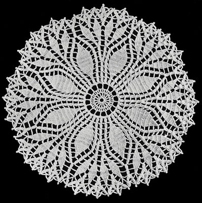 doily patterns fern leaf doily pattern RKRFSIK