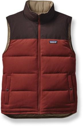 down vests patagonia reversible bivy down vest - menu0027s - rei.com TEKQWPC