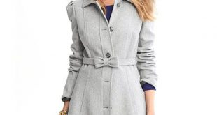 dress coat banana republic banana republic fit-and-flare bow coat QGSLQFI