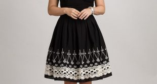 Dresses for plus size women plus size embroidered fit-and-flare dress, @ dressbarn WJGEMES