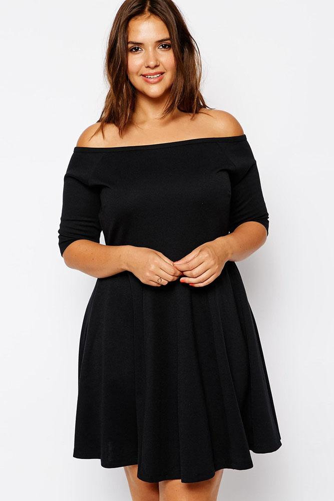 Dresses For Plus Size Women Qcgauyr Fashionarrow