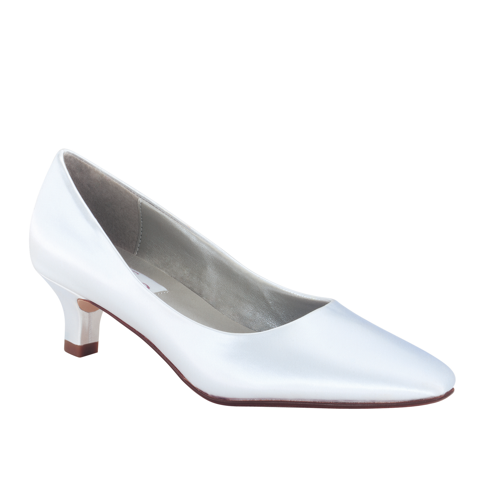 dyeable shoes dyeables abbey white satin CAWBOSY