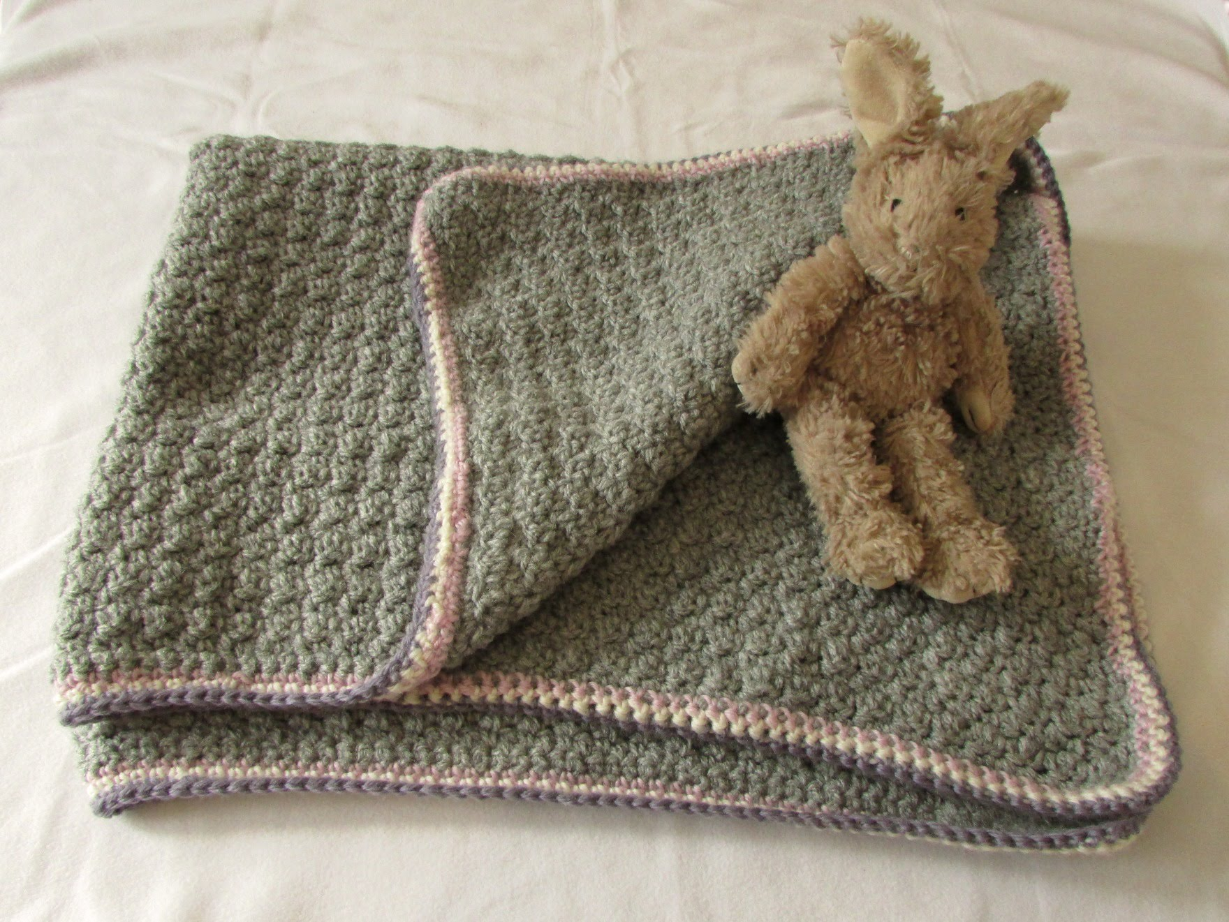 easy crochet blanket very easy crochet baby blanket for beginners - quick afghan / throw -  youtube RTANNZV