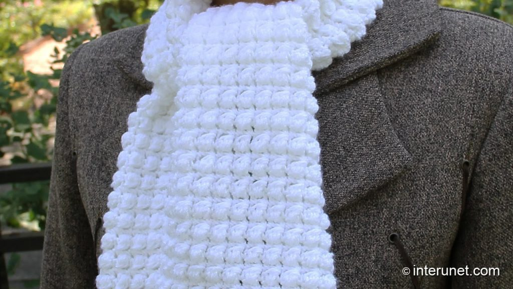 Easy Crochet Scarf Patterns How To Crochet A Scarf Pattern For