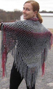 easy knitted shawl patterns WKMDWDZ