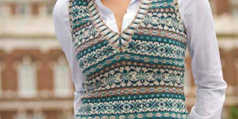 fair isle knitting knitting fair isle: weaving in ends like a pro DGQFNKF