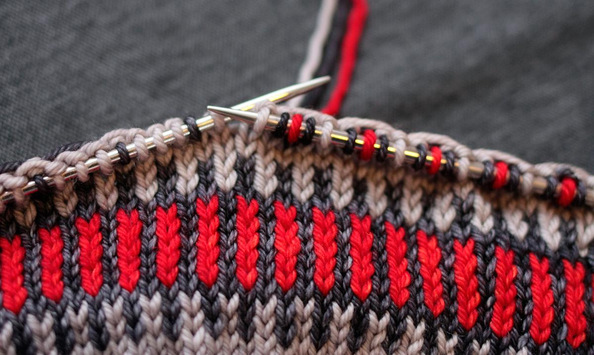 fair isle knitting OZMPWVG