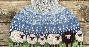 fair isle knitting ravelry: fidlstixu0027s baa-ble hat HNPIYOF