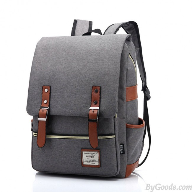 fashion backpacks vintage travel backpack leisure canvas with leather backpacku0026schoolbag JHFGYHJ
