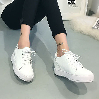 White platform sneakers – your best fashion selection