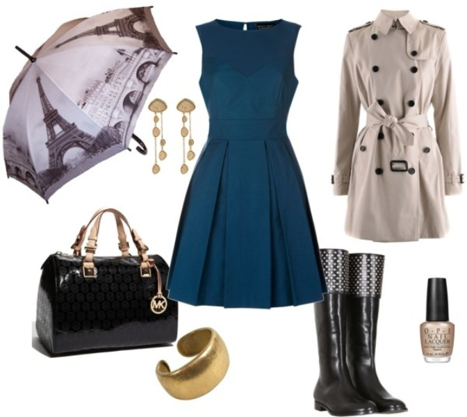 fashionable rainy day outfit ideas for women PORHTNV