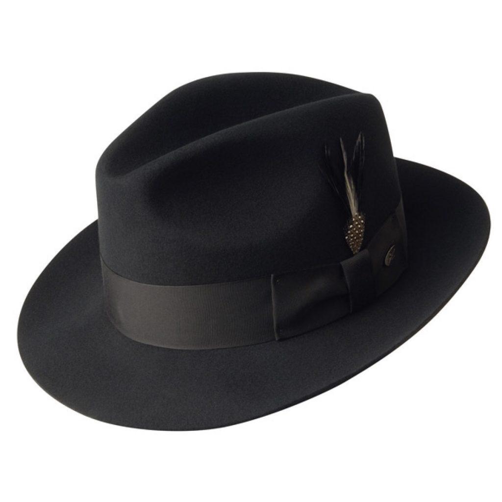 fedora hats bailey gangster – wool fedora hat TOUAMEL